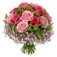 Romantic bouquet - Pink