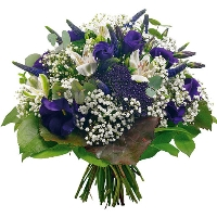 Blue / White bouquet